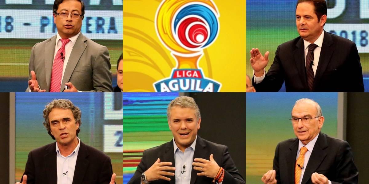 Candidatos presidenciales revelaron de qué equipos son hinchas