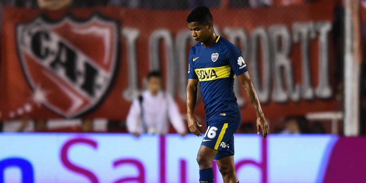 Wilmar Barrios volvió a lesionarse con Boca Juniors
