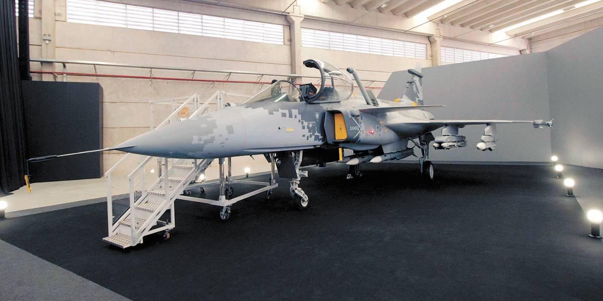 Produção de caças Gripen no ABC começa em 2020