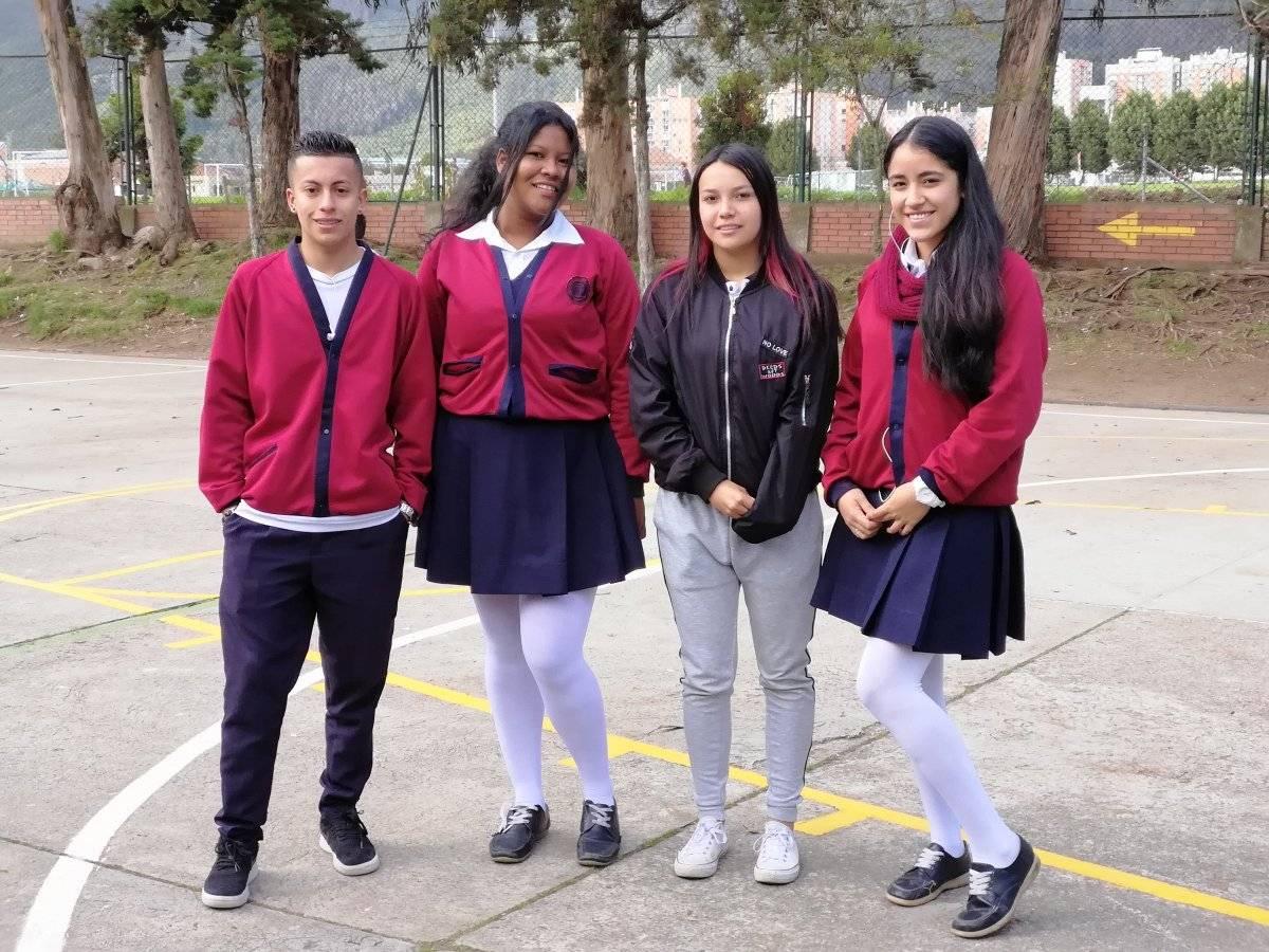 Estudiantes Colegio Aquileo Parra