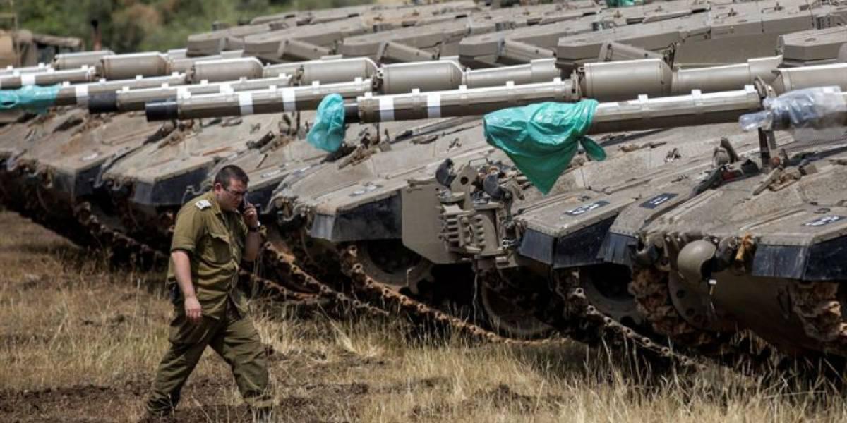 Israel sufre ataque con misiles desde territorio sirio