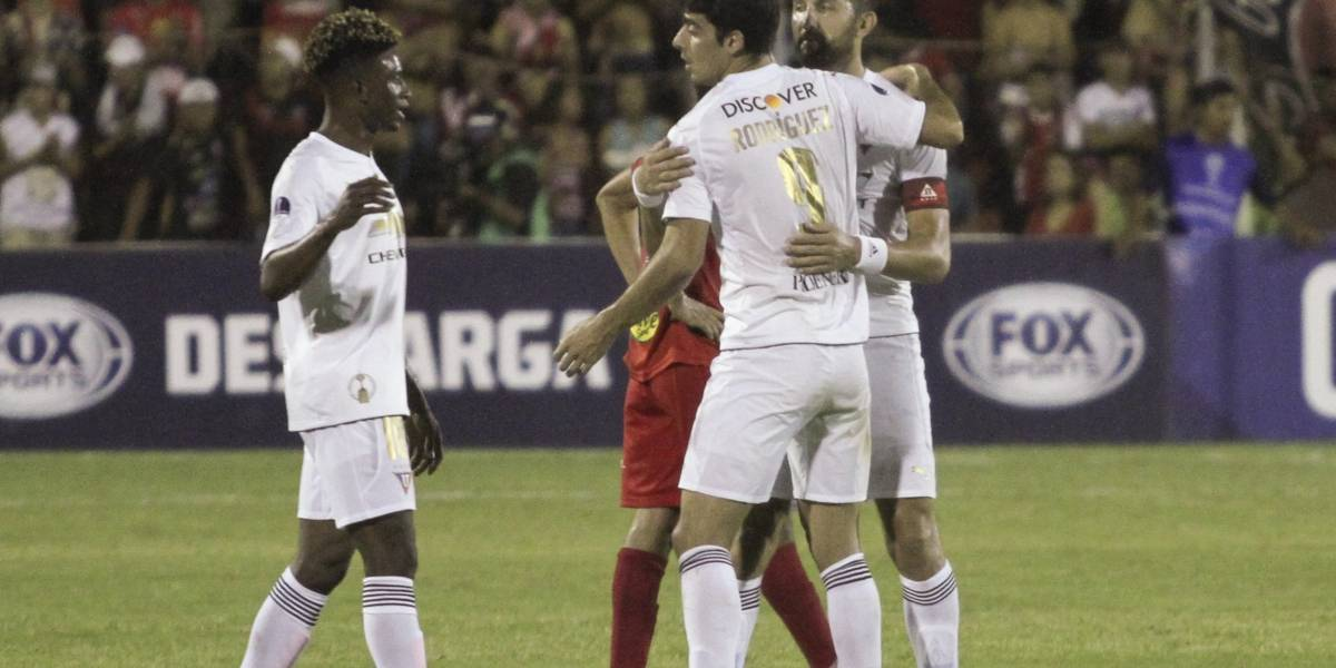 Liga de Quito sumó 100 goles en la Copa Sudamericana