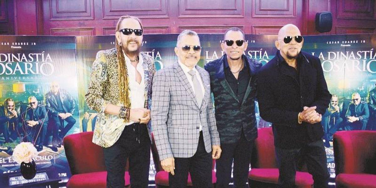 """Los Rosario en un encuentro tú a tú con la prensa previo a su espectáculo """"Dinastía"""""""