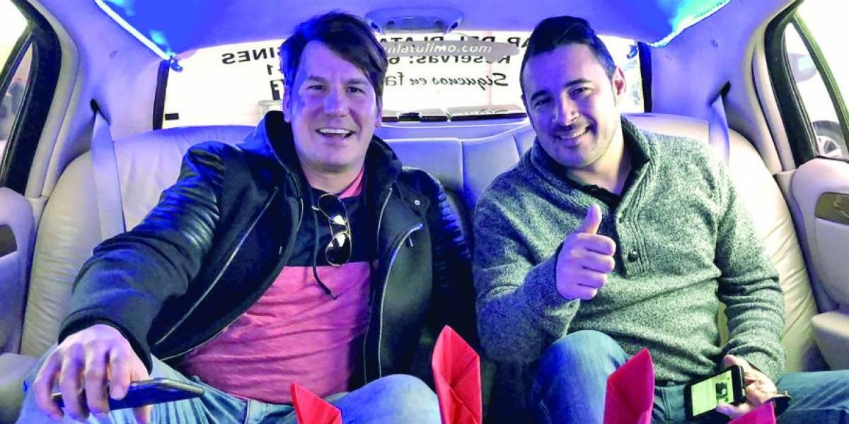 Andy y Lucas presumen desde España su nueva vida en la música
