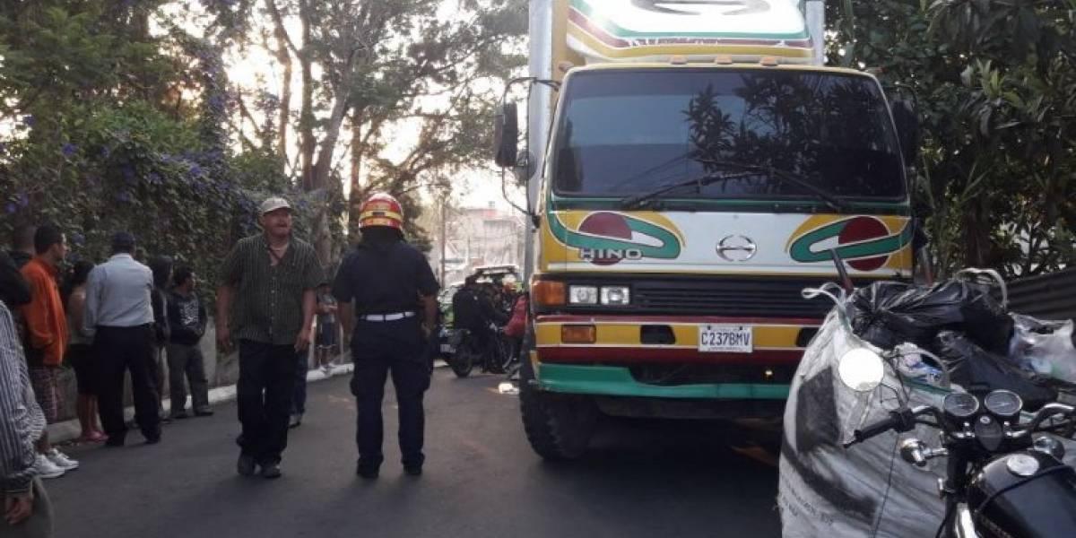 Un fallecido tras ataque armado en zona 7 de Mixco