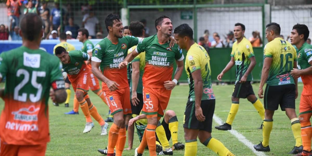 """La """"presencia diabólica"""" que se vio en el partido entre Siquinalá y Guastatoya"""