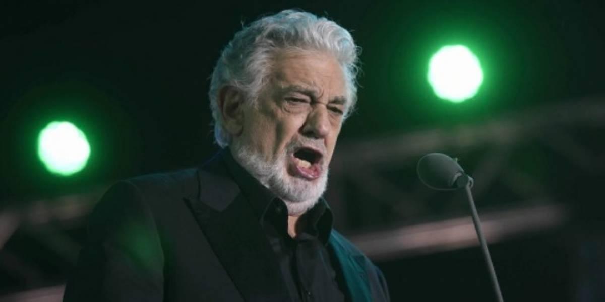VIDEO. Plácido Domingo cantó por primera vez en su vida Luna de Xelajú con mariachi