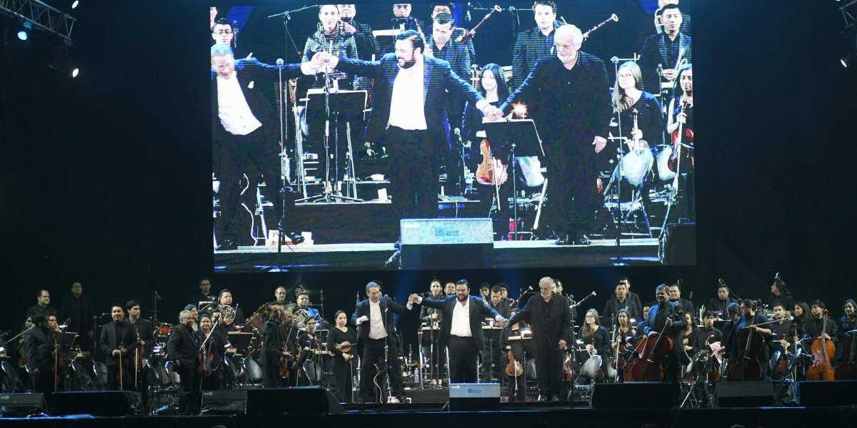 EN IMÁGENES. Revive el concierto de Plácido Domingo en Guatemala con sus invitados de lujo