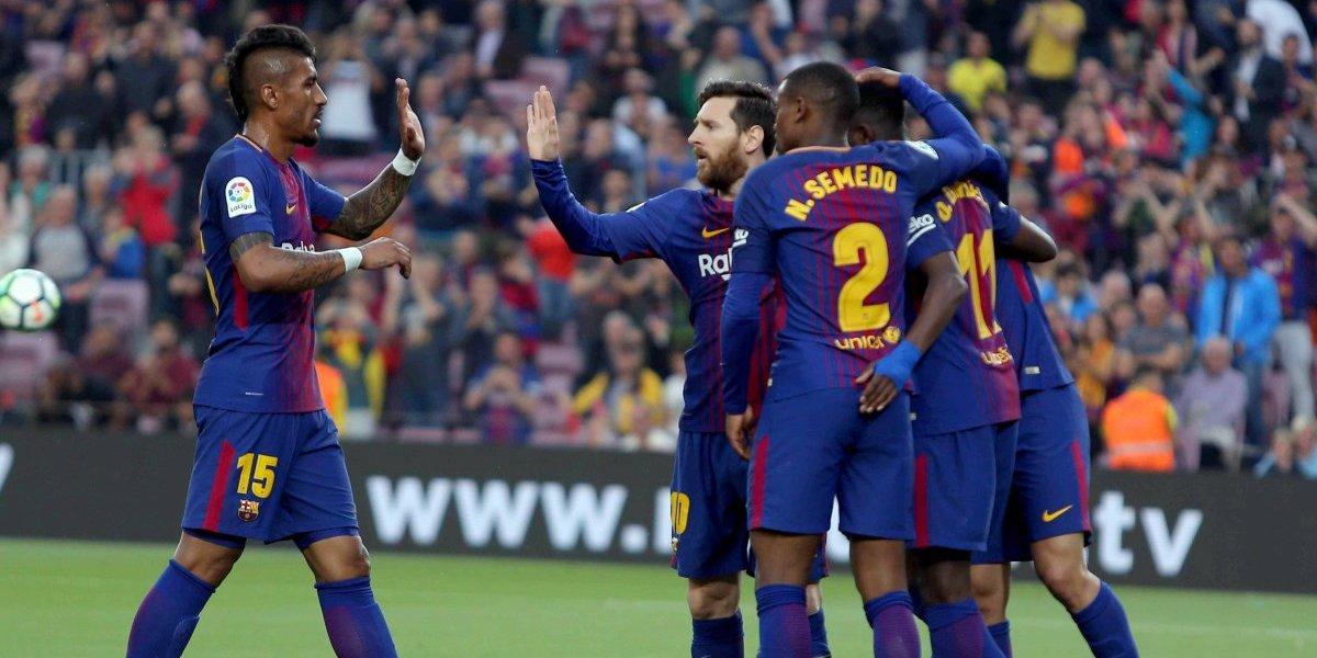 """El Barcelona """"hunde"""" al """"Submarino Amarillo"""" con una goleada en el Camp Nou"""