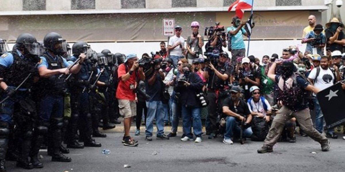 Justicia somete cargos contra cuatro manifestantes