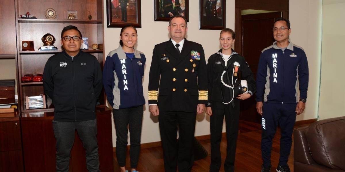 Da la bienvenida titular de la Marina a atletas que obtuvieron oro en China