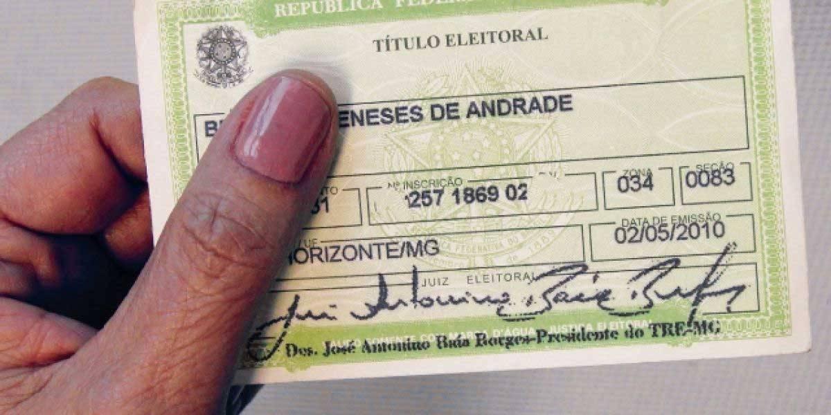 Quem perdeu o prazo para emitir ou atualizar o título de eleitor pagará multa para regularizar