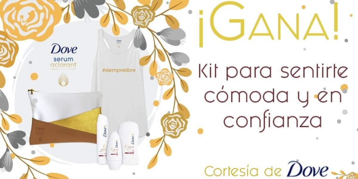 ¡Gana! kit para sentirte cómoda y en confianza