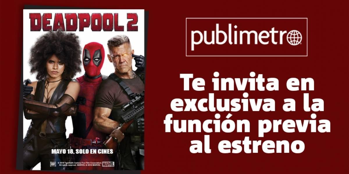 ¡Gana! CDMX pase para Deadpool 2