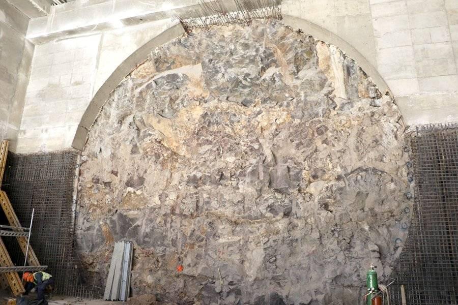 La tuneladora está a un paso de terminar su perforación
