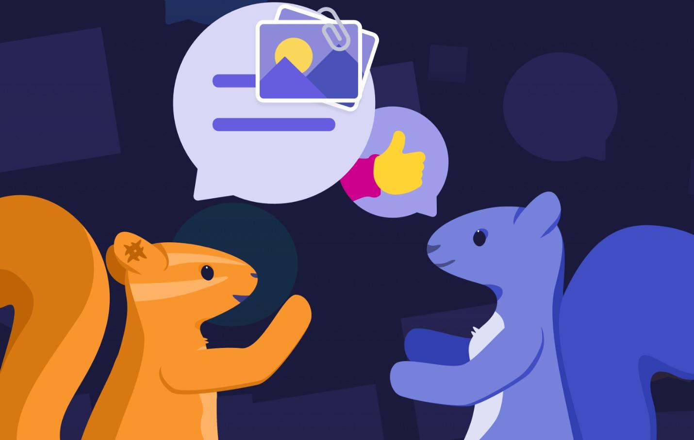 Yahoo prueba su nueva aplicación de mensajería Squirrel