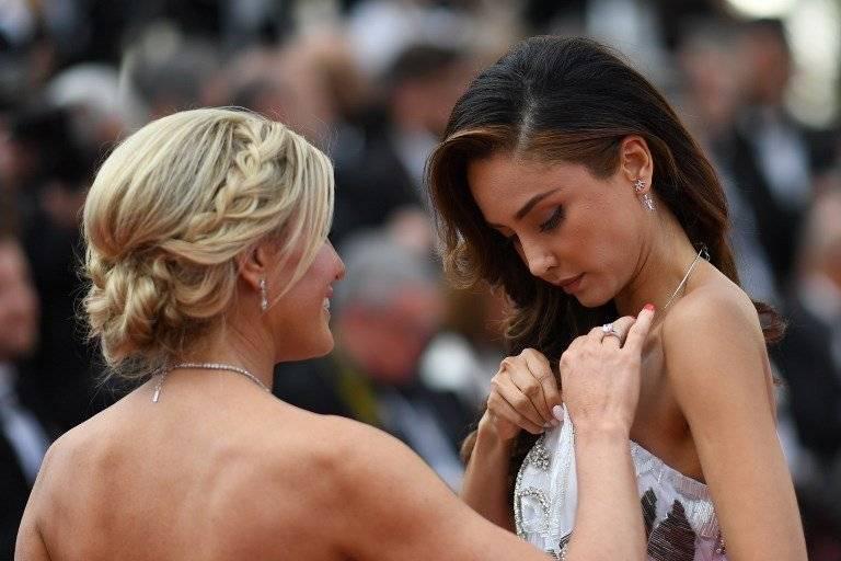 Patricia Contreras en Cannes Fotos: AFP