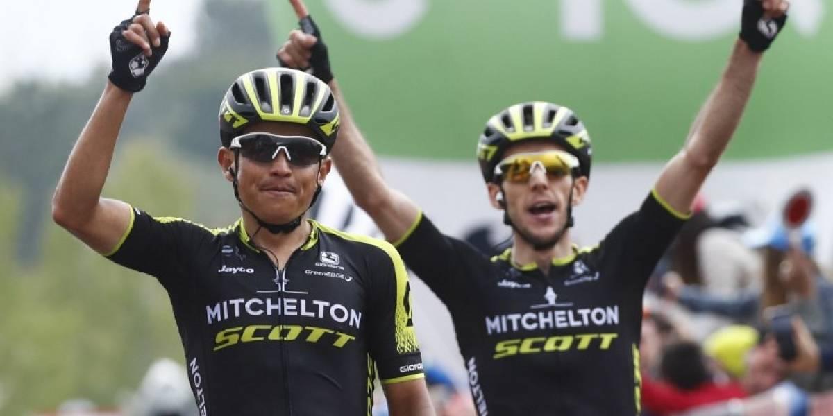 Chaves gana la sexta etapa, Simon Yates nuevo líder del Giro