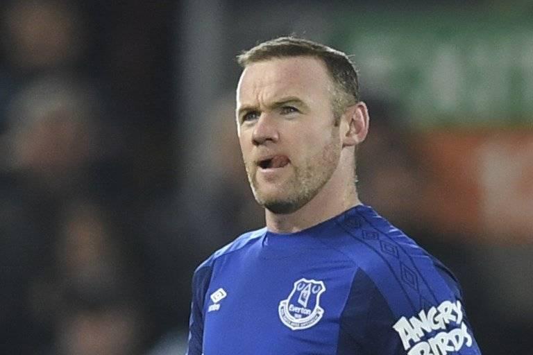 Wayne Rooney, actual jugador del Everton