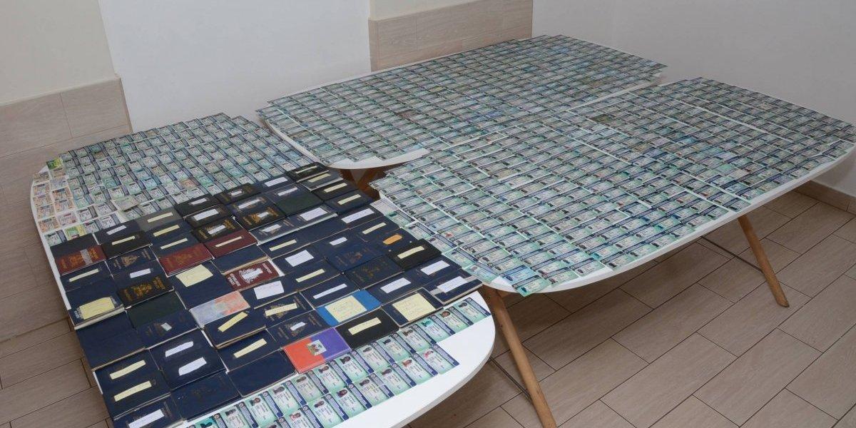 DGM decomisó mil 762 documentos alterados en varios operativos