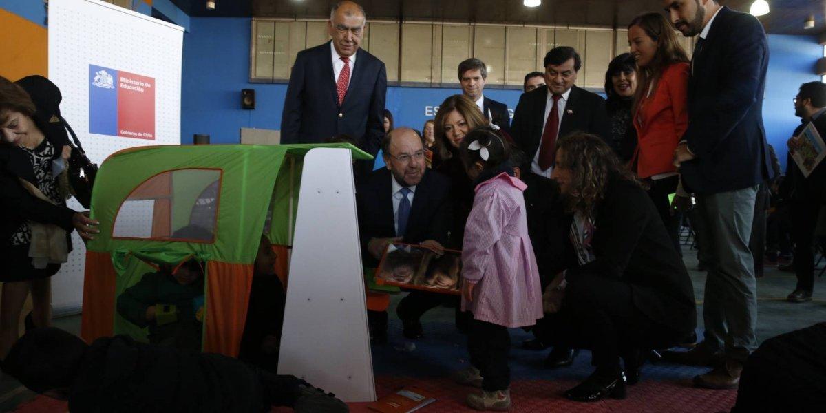 Rinju: Así es el rincón de juegos que el Gobierno le entrega a los niños en Pre Kinder