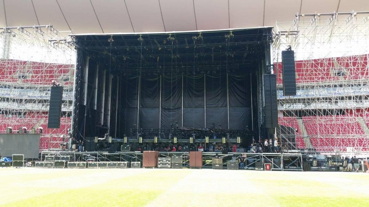 Nueva estructura para conciertos