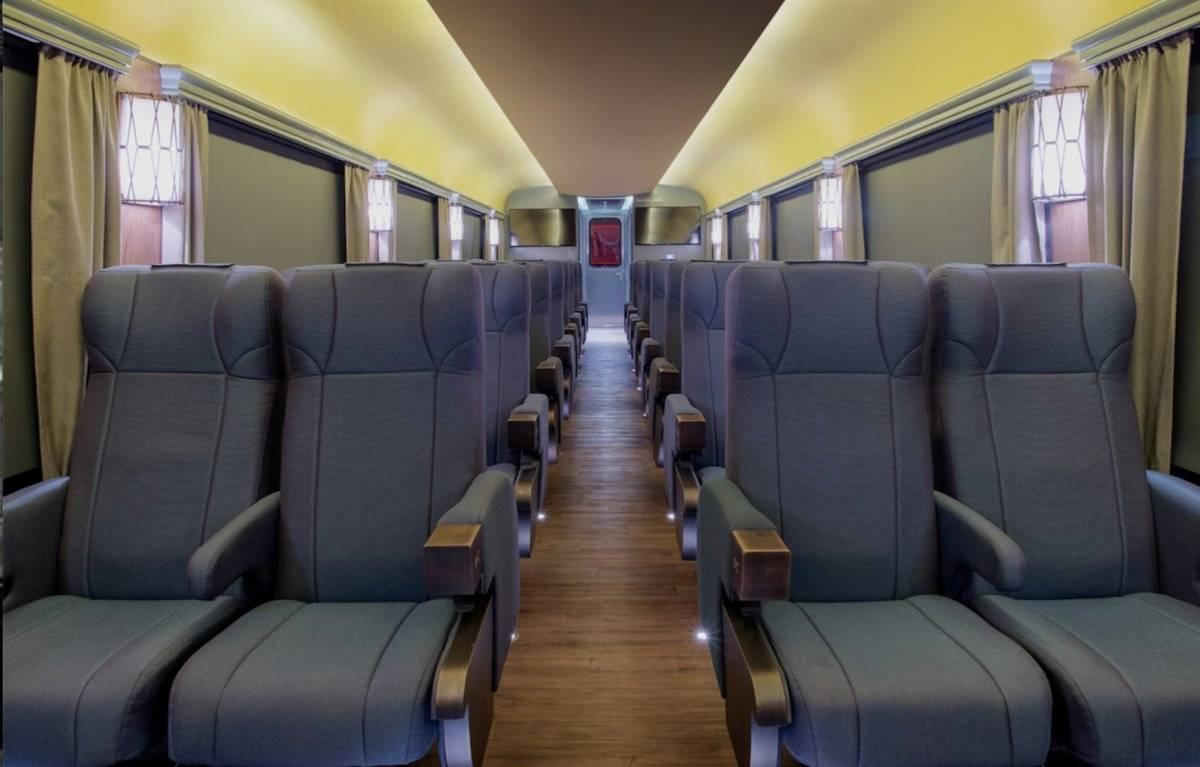Este es el nuevo Chepe Express que recorrerá también la Sierra Tarahumara