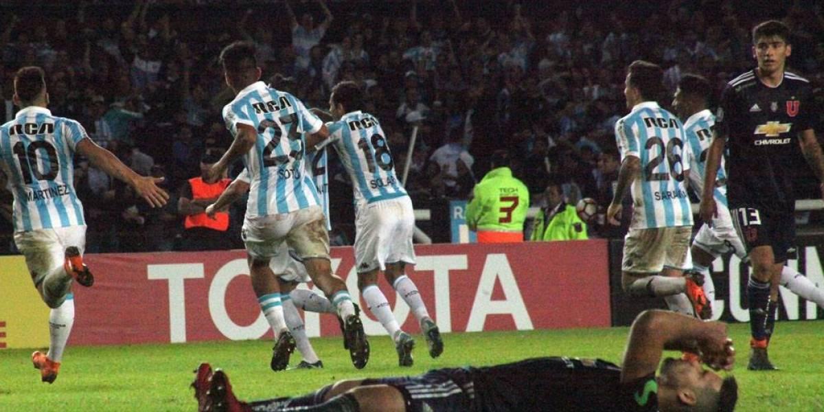 Conmebol le abre un expediente disciplinario a la U por presencia de hinchas azules en estadio de Racing