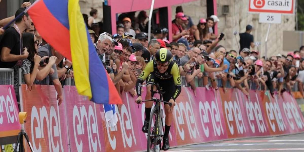 ¡El 'Chavito' del Etna! Esteban Chaves gana la etapa 6 del Giro de Italia