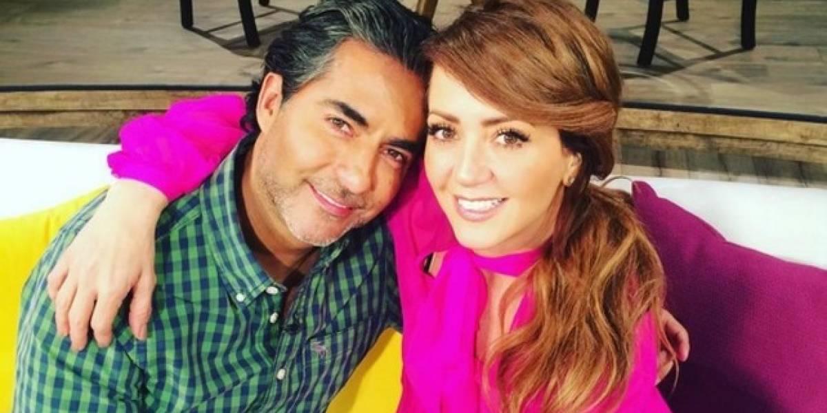 Raúl Araiza se gritonea en pleno programa en vivo con Andrea Legarreta