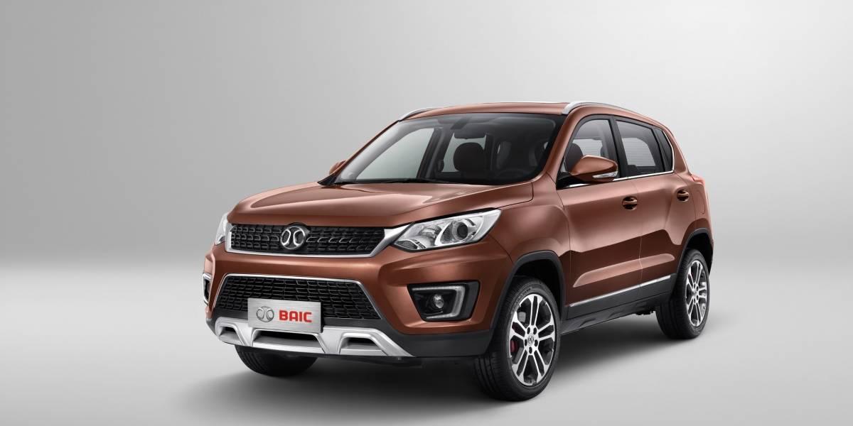 Baic X35: la segunda generación de los chinos llega mucho más desarrollada