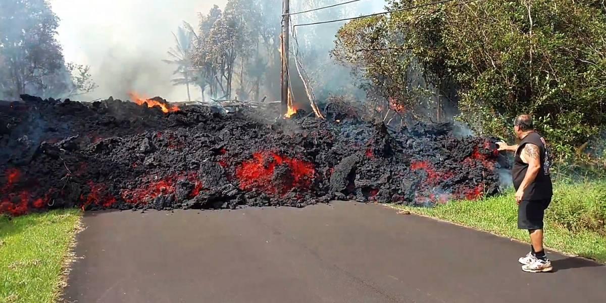 Crece temor ante posible erupción del volcán Kilauea en Hawai