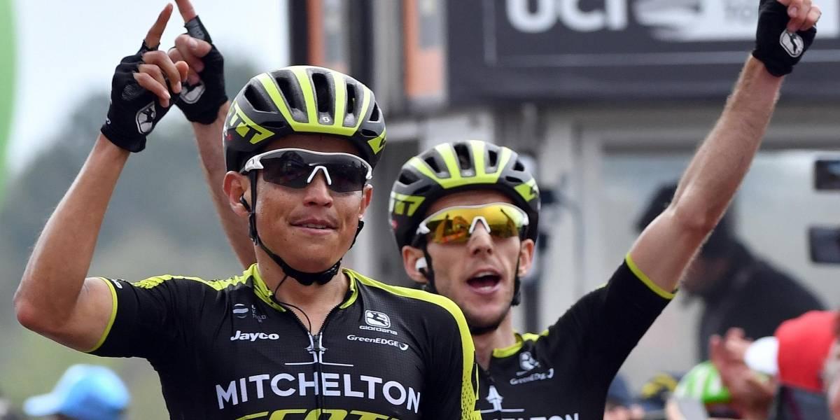 Giro de Italia: Simon Yates se apoderó de la Maglia Rosa en la cima del Etna