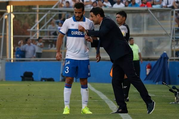 Germán Voboril volvería al once titular de la UC después de 4 fechas de ausencia por lesión / Foto: Agencia UNO