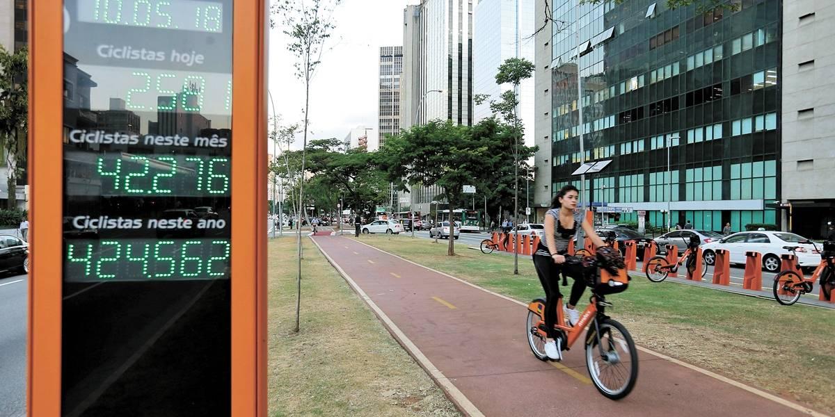 Bicicleta é o melhor meio para se deslocar sem estresse em São Paulo