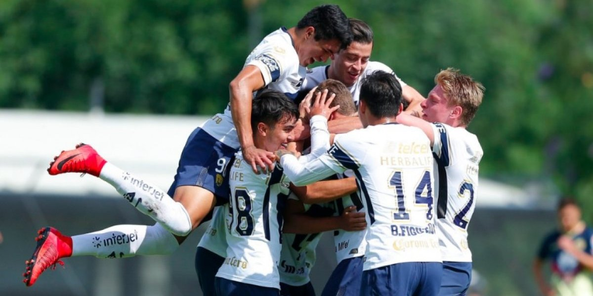 Pumas Sub 20 toma venganza y derrota al América