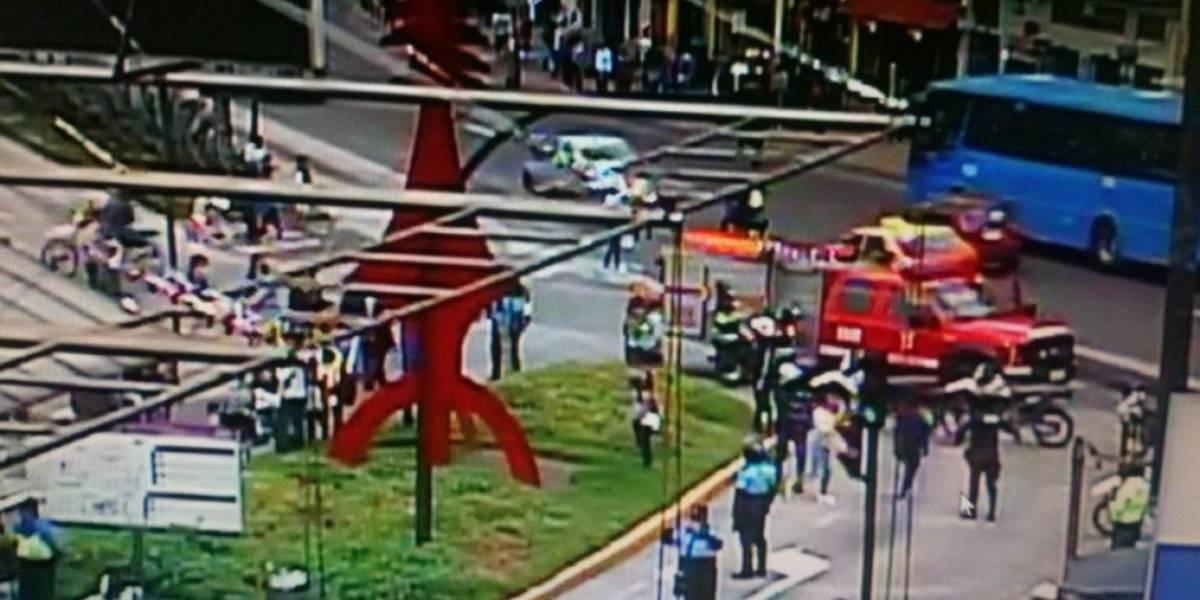 Quito: Se reporta posible artefacto explosivo en La Marín Central