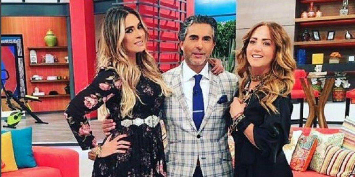 VIDEO. Raúl Araiza se gritonea en pleno programa en vivo con Andrea Legarreta