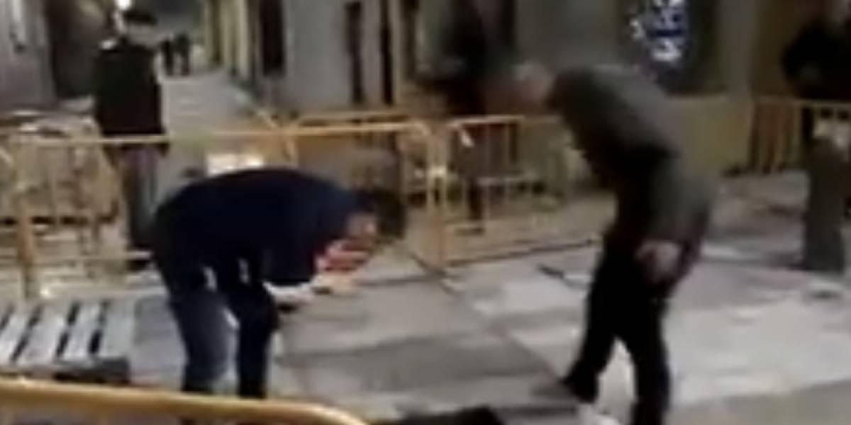 Video: Cuando la fiesta de estos amigos ebrios casi termina en tragedia