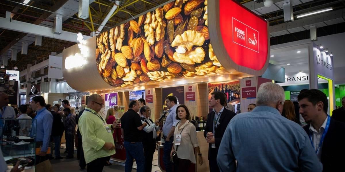 Exportadores de nueces, mejillones y vinos concretan negocios en feria de Brasil