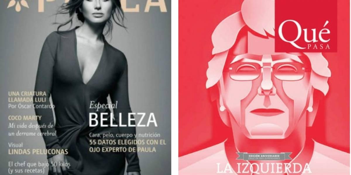 Copesa cierra las revistas Paula y Qué Pasa y despide a sus trabajadores