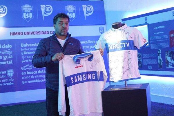 Charly Vázquez jugó entre 1993 y 1996 en Universidad Católica. Ganó la Interamericana 1994, la Copa Chile 1995 y llegó a la final de la Libertadores 1993 / Foto: cruzados.cl