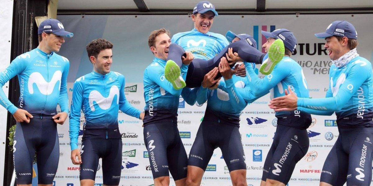 Richard Carapaz, el ciclista joven más valioso en Giro de Italia