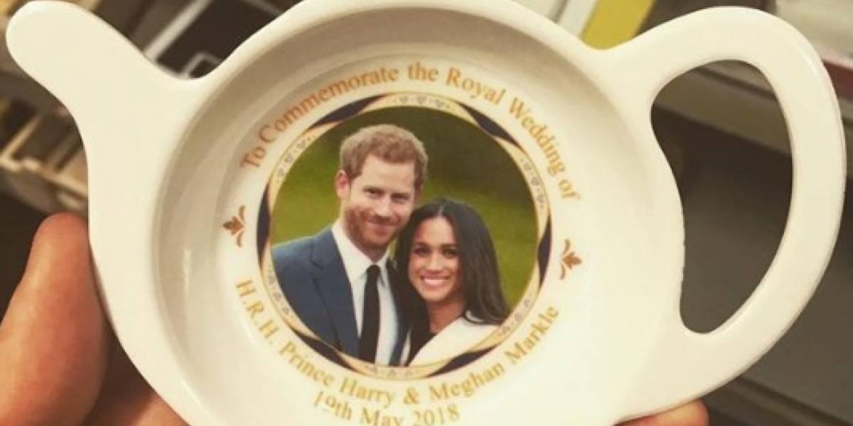 Fotos: Lembranças do casamento de Harry e Meghan fazem sucesso entre os britânicos