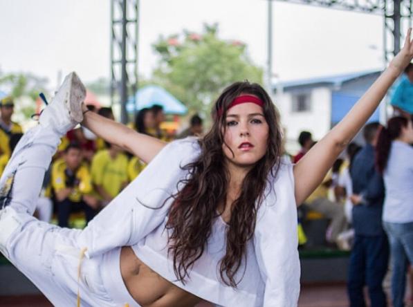 Ella es la hija de Germán Vargas Lleras, que sorprende en redes con sus movimientos