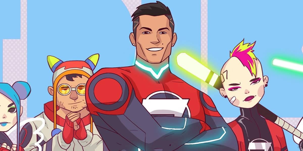 Cristiano Ronaldo vira super-herói em animação