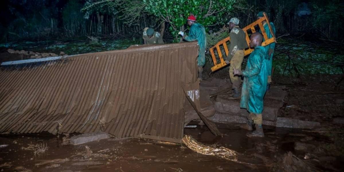 FOTOS. Desbordamiento de presa deja más de 40 muertos en Kenia