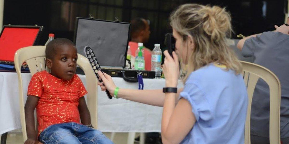 BRA Dominicana y Gildan realizan jornada para prevenir la ceguera en San Pedro de Macorís