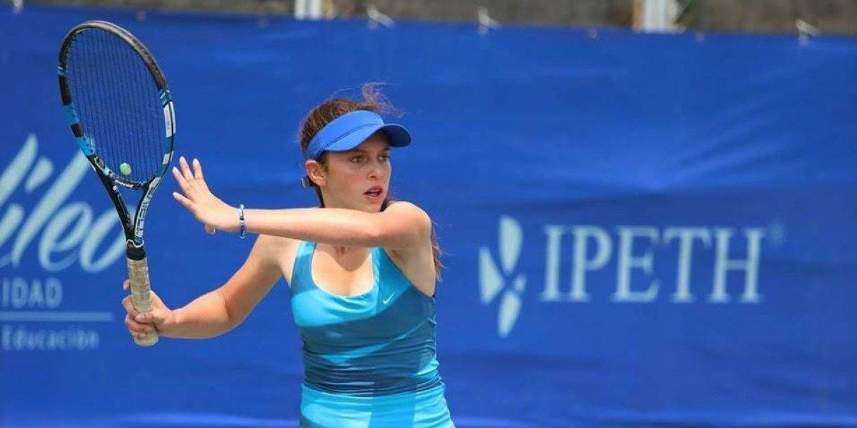Tenista guatemalteca competirá en uno de los torneos más prestigiosos de Europa