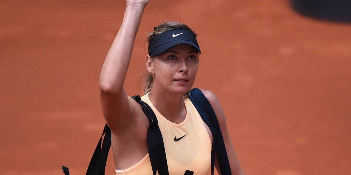 María Sharapova es eliminada del Abierto de Madrid